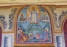 jesus transfiguration Royaltyfria Bilder