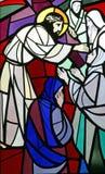 Jesus trifft die Töchter von Jerusalem Stockfotografie