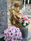 Jesus und Jungfrau Maria Stockbild