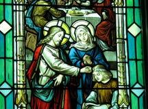 Jesus und Mary stockfotografie