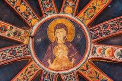 Jesus und Mary Mural in Chora-Kirche Stockfotografie