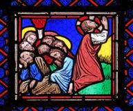 Jesus und seine Sch?ler auf dem ?lberg lizenzfreies stockfoto