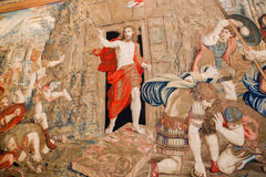 Jesus - Vaticanenmuseum, Roma Arkivfoton