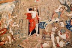 Jesus- - Vatikan-Museum, Rom Stockfotos