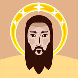 Jesus vector Royalty Free Stock Image