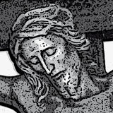 Jesus (vetor) ilustração royalty free