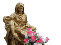 Jesus and Virgin Mary Stock Photography