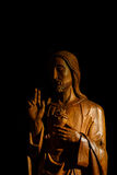 Jesus Wood Carving Photographie stock libre de droits