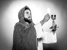 Jesuschrist modlenie obraz stock