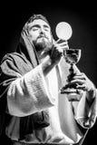 Jesuschrist modlenie zdjęcie stock