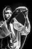 Jesuschrist modlenie obraz royalty free