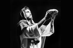 Jesuschrist praying Stock Image