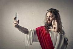 Jesuss stående royaltyfri bild