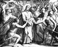 Jesuss svek royaltyfri bild