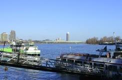 Jetée Cologne Image libre de droits