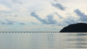 Jetée de Batu Musang Image libre de droits