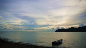 Jetée de Batu Musang Images libres de droits