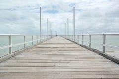 Jetée de Bundaberg Images stock