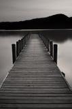 Jetée de lac à l'eau de Coniston Images libres de droits