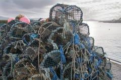 Jetée de port au liège d'Ahakista Image stock