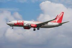 Jet2 Боинг 737-800 стоковая фотография