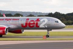 Jet2 Боинг 757 Стоковая Фотография RF