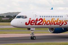 Jet2假日波音757 库存照片
