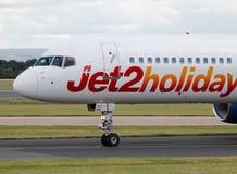 Jet2假日波音757 库存图片