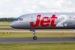 Jet2波音757 图库摄影