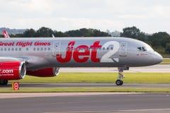Jet2波音757 免版税库存图片