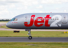 Jet2波音757 免版税图库摄影