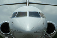 Jet. A private jet plane Stock Photos