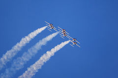 Jet aerobatic team Stock Photo