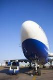 Jet aircraft. At the airport Stock Photos