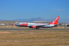 Jet2 Aircraft Royalty Free Stock Images
