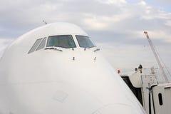 Jet aircraft cockpit Stock Images