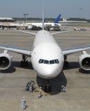 Jet Aircraft at Narita Airport - Japan royalty free stock images