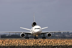 Jet airliner Stock Image