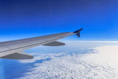 Jet Airliner Wing and Wingtip Stock Photos
