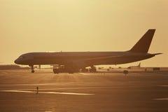 Jet airplane Stock Photography