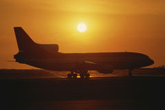Jet airplane Stock Images