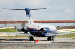 Jet airplane Royalty Free Stock Photos