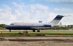 Jet airplane Royalty Free Stock Image