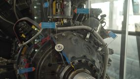 Jet Airplane Engine stock video