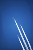 Jet Airplane Streams in the Sky
