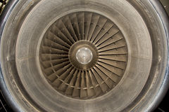 Jet Airplane turbine engine Royalty Free Stock Photo