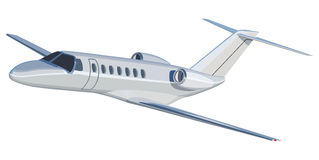 Jet airplane Stock Image