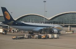 Jet Airways Foto de archivo libre de regalías