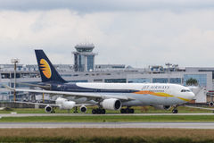 Jet Airways Airbus A330 Royaltyfri Foto