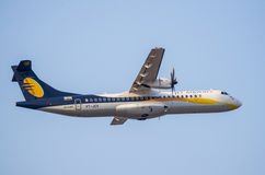 Jet Airways ATR-stock image Royalty Free Stock Photo